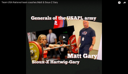 KOTL Team USA National team coaches: Matt & Sioux-Z Gary