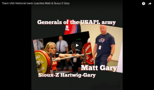 KOTL Team USA National team coaches: Matt & Sioux-Z Gary