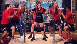 World Record Deadlift 405 kg Julian J K  Johannsson