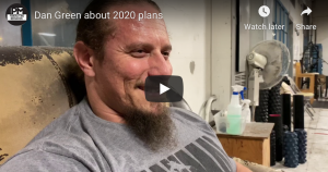 Dan Green 2020 plans a video interview of Ted Kostov