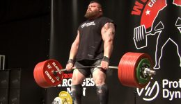 Eddie Hall 500 kg deadlift