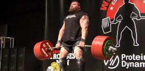 Eddie Hall 500 kg deadlift