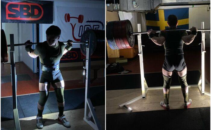 Squat Bench Deadlift Athlete