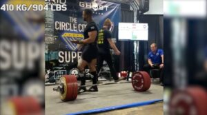 Jamal Browner 1000 kg deadlift