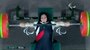 Rehab Ahmed Tokyo Paralympics 2020 Benchpress