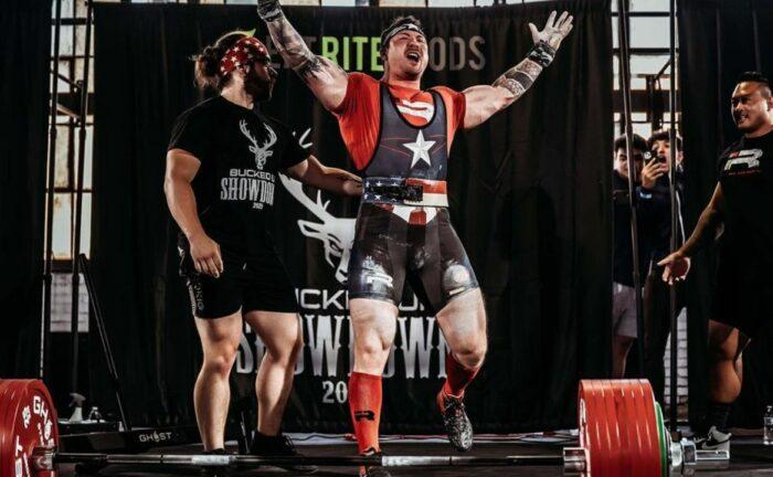 John Haack 1000kg total